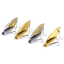 Long Stroke Vibrating Swimming Vib Bionic Bait 10g Lure Metal Outdoor Sports 3d Eye Fishing Accessories The