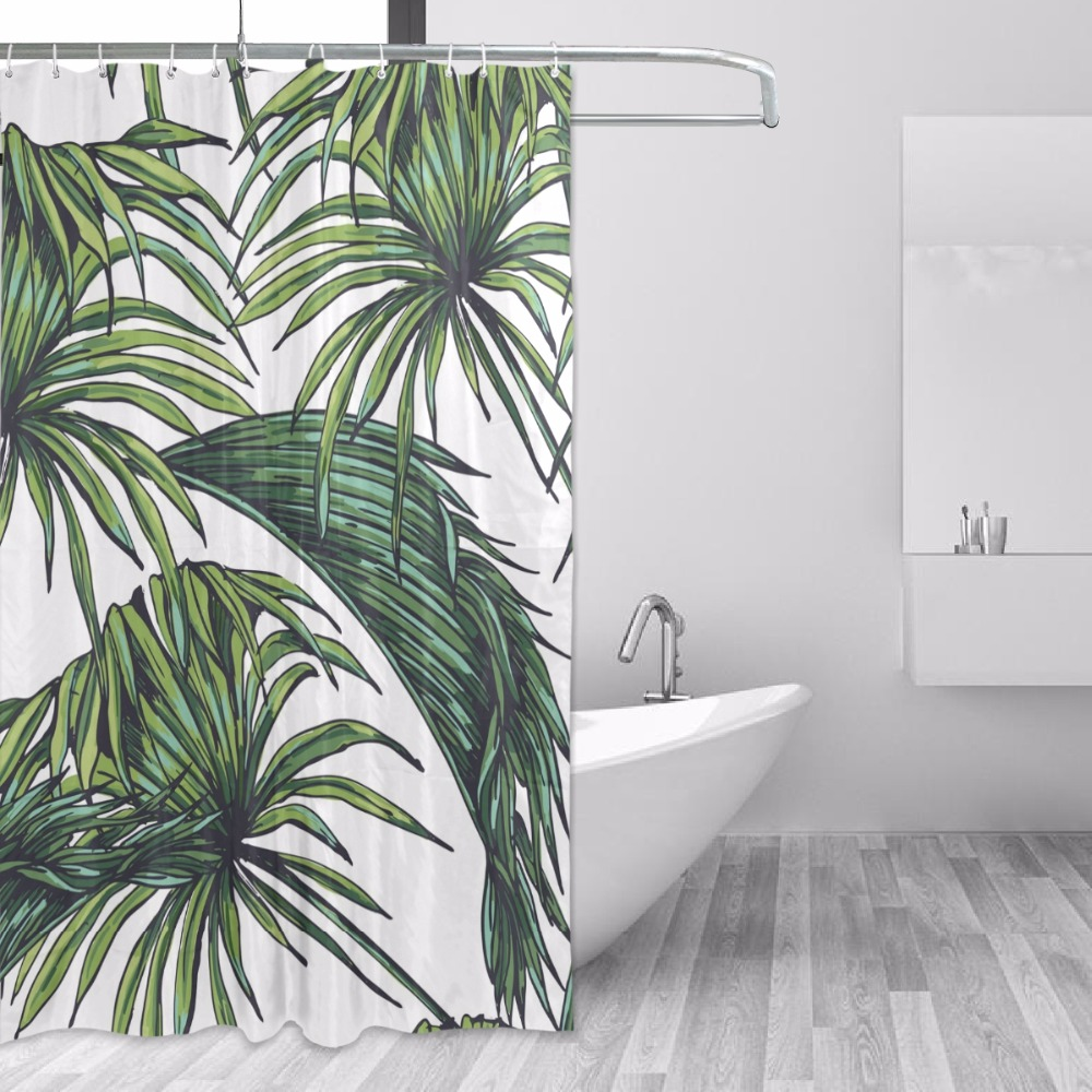 Douchegordijn Moderno À Prova D' Água Do Banheiro Cortina