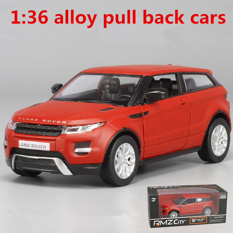 1:36 Alloy Pull Back Cars,high Simulation Land Rover Model