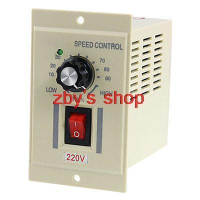 Sewing Machines AC 220V Switch Output DC 180V Motor Speed Controller 120W DC-51 10-90 RPM ac 220v input dc 180v output green i o 2 position switch motor speed controller