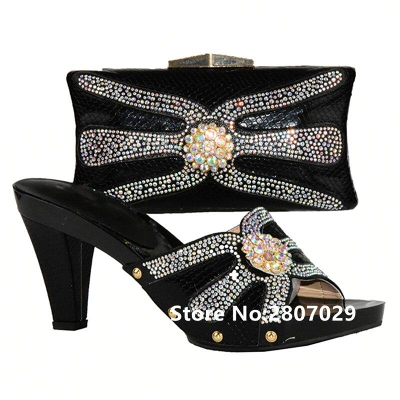 Con Mujeres Zapatos Nigeriano verde Las Juego plata Bolso Rosa Y Para A Bolsa rojo Sistemas Partido Africana Piedra El Vestido Del Negro rosado En Conjunto zqd0wq