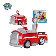 Paw Patrol Marshall Canine vehicle Toy  fire ambulance  deformation gift toy Canina Action Figures Juguetes Patrol Canine toys original octonauts gup h and barnacles vehicle figures toy bath toy child toys