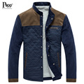 New 2017 Autumn and Winter Fashion Single Breasted Stand Up Collar Corduroy Casual Jacket Men Coat Free Shipping