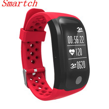 Smartch GPS Sport Smart Band Heart Rate IP68 Waterproof S908 Bluetooth 4.2 Sleep Monitor Pedometer Bracelet For Android IO