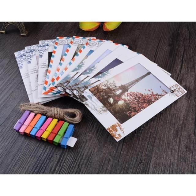 Tienda Online 9 piezas 6 pulgadas DIY pared colgante de papel marco ...