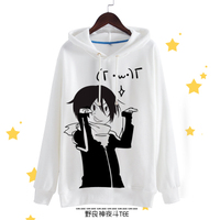 Anime Noragami Cosplay Yato Cos Halloween Party Autumn And Winter Fun Polyester Hooded Hoodies