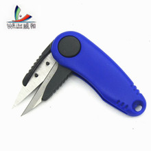 Hot Selling Shrimp Folding Fish Accessories Using Stainless Steel Scissors Cutting Line Fishing Clipper Fishing Scissors Tackle