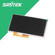 "Nuevo 7 ""pulgadas LCD Pantalla Para Ostras T72 3G de la Tableta de la Pantalla LCD 163*97mm 1024×600 Panel de la Pantalla de 30Pin"