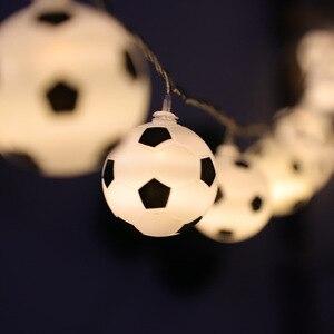 Image 5 - JSEX פיות אור עם Remot מחרוזת חג זר כדור Led אור חיצוני עץ חג המולד חתונה בית נר מזויף קישוט