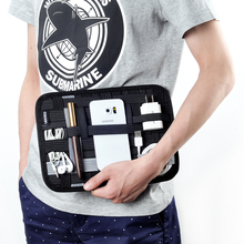 MyGeek Мобильного Телефона Мешок Цифровой Хранения сумки для iphone 5 6 plus путешествия сумка наушники зарядное устройство мобильного хранения плиты