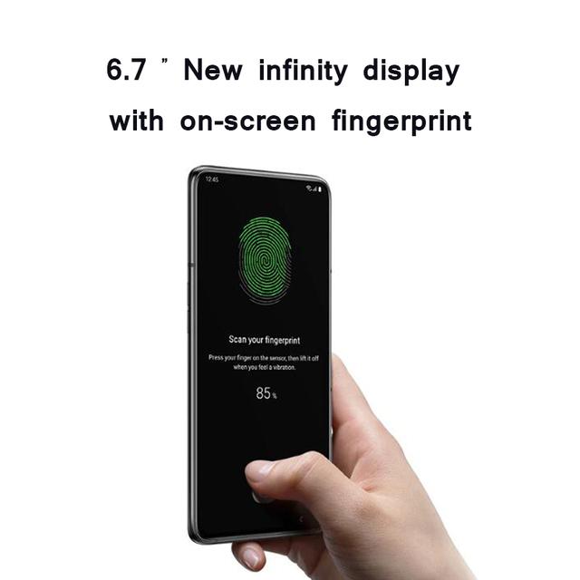 "Samsung Galaxy A80 4G Cellphone 6.7 ""infinity Snapdragon 730G Octa Core 8GB 128GB 48MP rotatable camera"