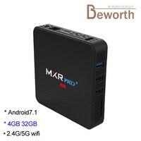 DHL MXR Pro Plus Android 7 1 TV Box RK3328 Quad Core 4GB 32GB Smart TVbox