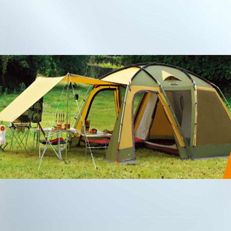 Bedroom 5 6 Bunk Outdoor Camping Tent Canopy Multi ...