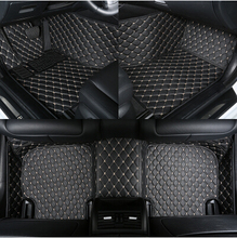 Best! Custom special floor mats for Mercedes Benz GL 400 X166 7seats 2015 Easy to clean carpet for GL400 2014-2013,Free shipping