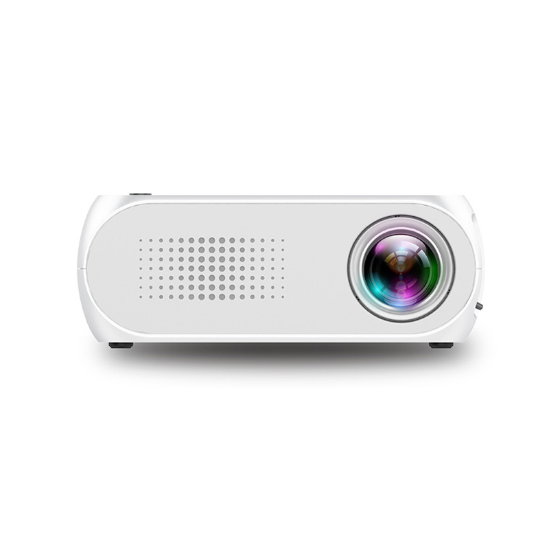 EU Plug Mini Household Projector HD 1080P LED Multi-media Home Theater Projector