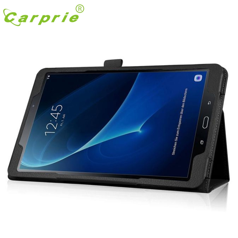 CARPRIE Folding Stand Leather Case Cover For Samsung Galaxy Tab A 10.1 2016 T580N Feb4 MotherLander