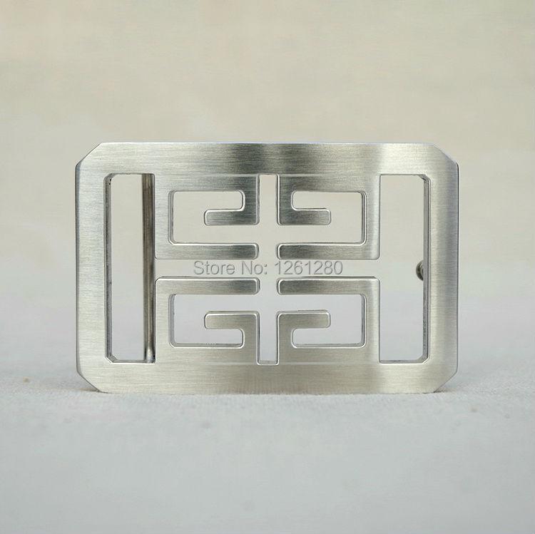 free shipping 4G metal buckle fashion stainless steel belt buckle plate belt head DIY handmade bag