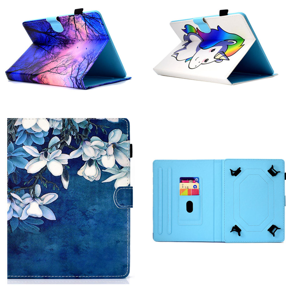 PU Leather 7Inch Universal Cover For Huawei Mediapad T2 7.0 Pro PLE-701L PLE-703L Honor X1 7D-501U 503L X2 GEM-703L Tablet Cases