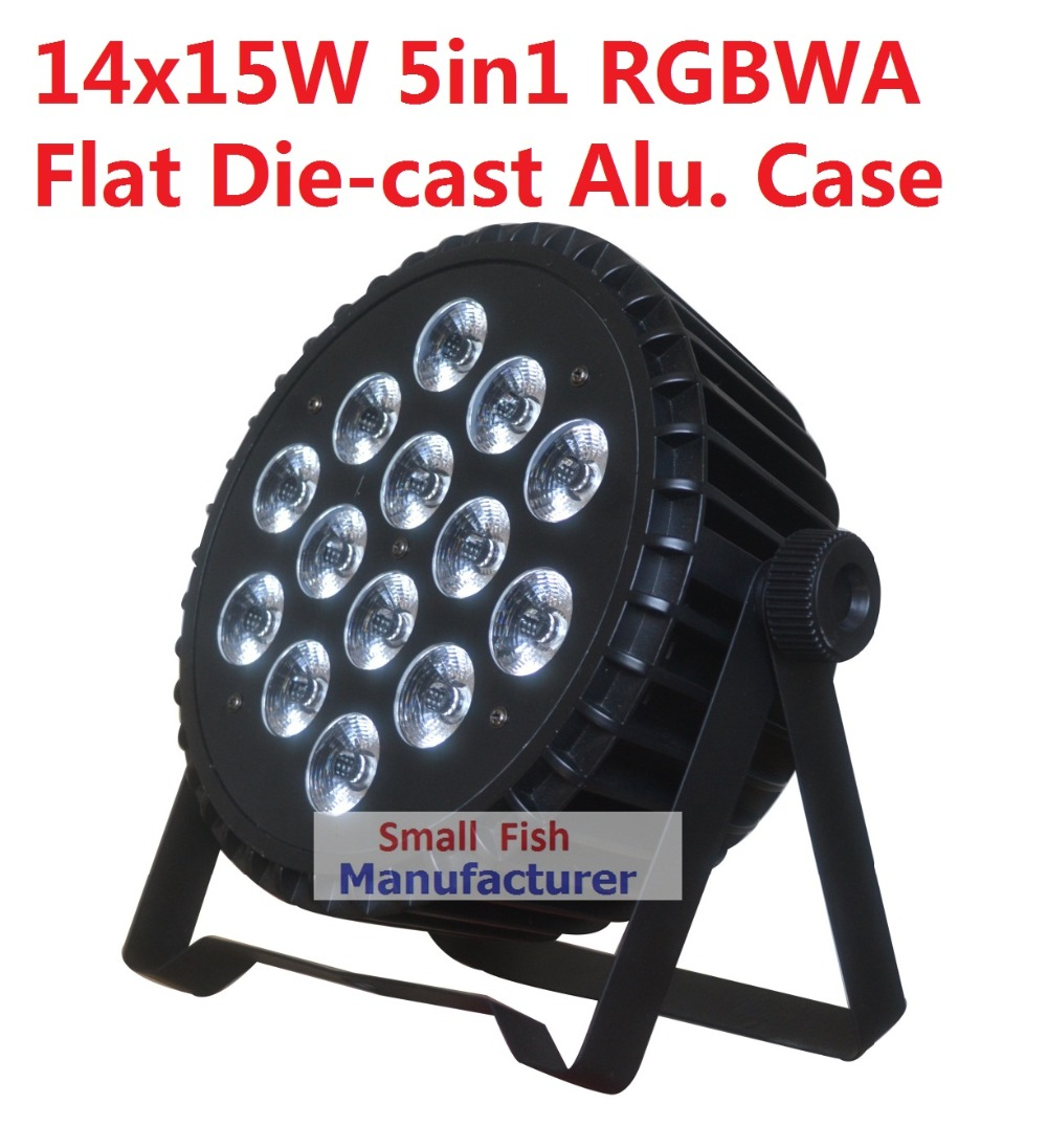 2019 Die cast Alu. Case Led Par Light 14x15W RGBWA 5in1 DMX Stage Lights Business Lighting High Power Light Party KTV Disco DJ|disco dj|led par lightstage light - title=