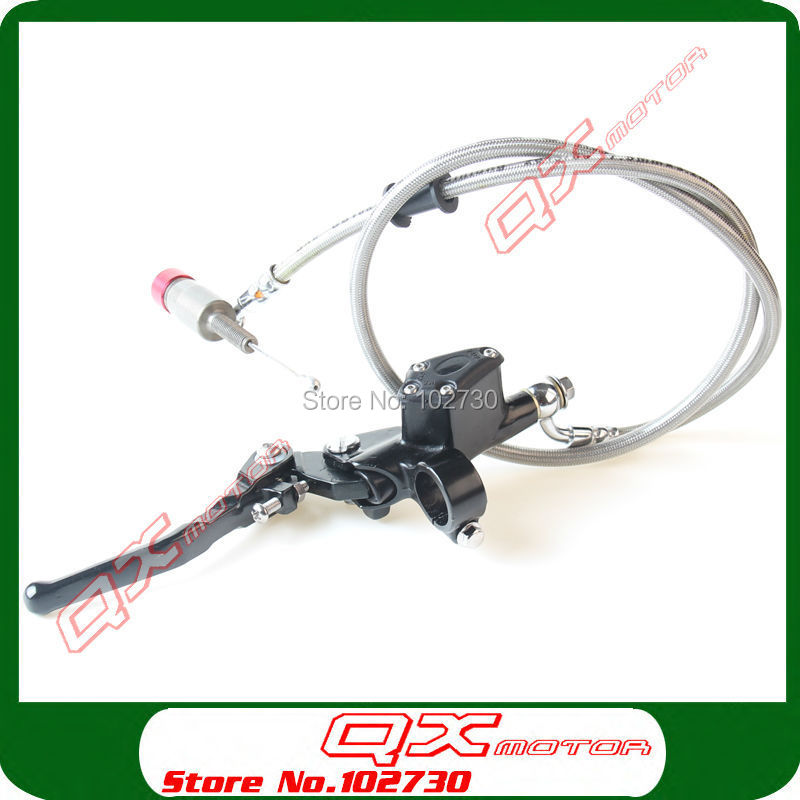 Motorcycle Hydraulic Clutch Lever Master Cylinder 900mm For KAYO BSE Xmotos 125cc 140cc 150cc 160cc Dirt Pit bike Free shipping 125cc cbt125 carburetor motorcycle pd26jb cb125t cb250 twin cylinder accessories free shipping
