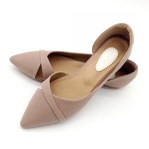 Image 3 - 2020 Lente Zomer Mode Vrouw Ballet Flats Schoenen Vrouwen Zachte Slip Op Enkele Schoenen Dames Schoenen Schoeisel Zapatos De Mujer zwart