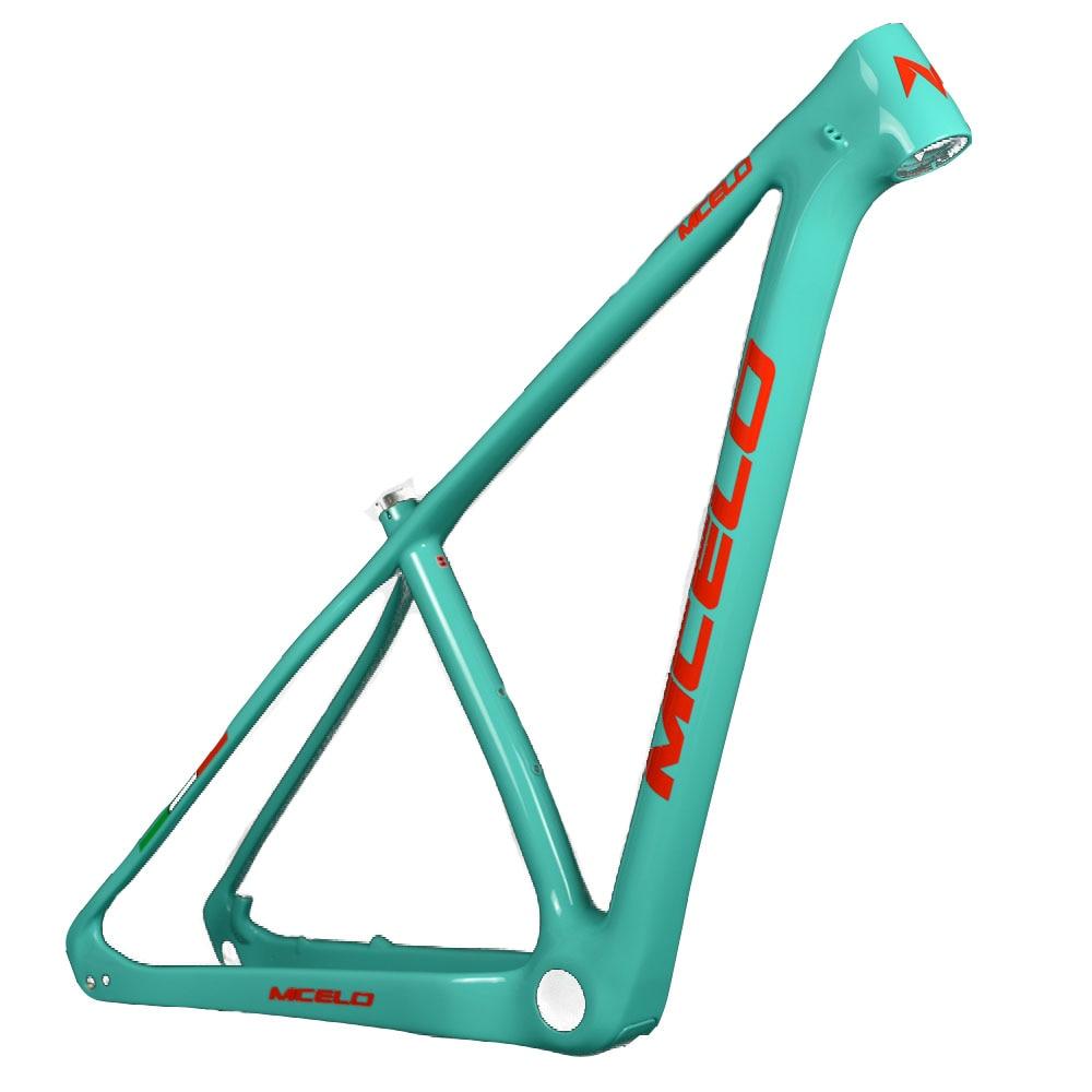 MCELO bike frames carbon mtb frame 29er carbon frame mtb mountain bike thru axle bicycle frames quadro de bicicleta 29 carbono|Bicycle Frame|Sports & Entertainment - title=