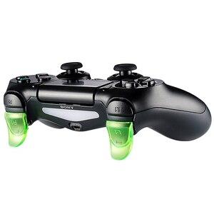 Image 4 - נתונים צפרדע כפוף L2 R2 כפתורים מפעיל Extender ערכת לפלייסטיישן 4 PS4/PS4 Slim/PS4 פרו משחק בקר אביזרי