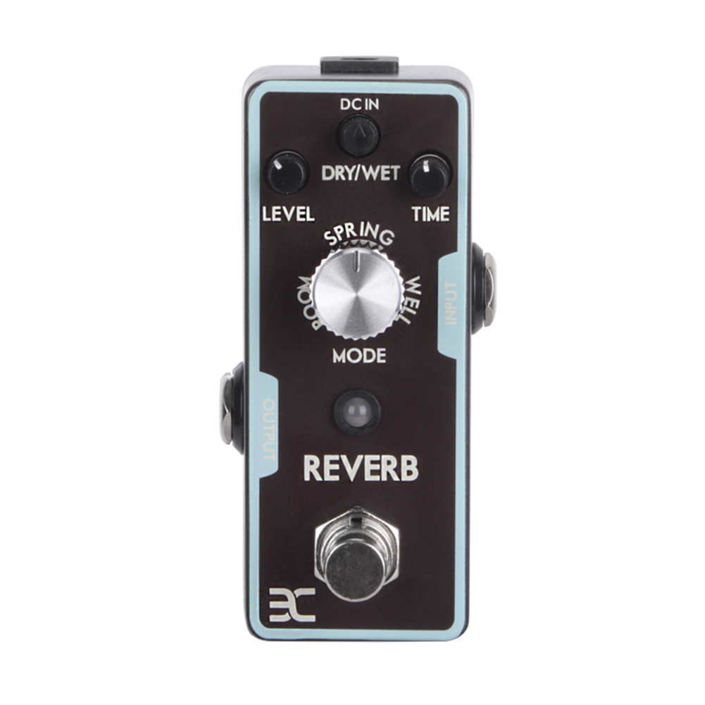 EX Electric Guitar Pedal Single Effects Guitarra Distortion Overload Faz Echo Reverb Wah Eight Degrees Equal Chorus Compression
