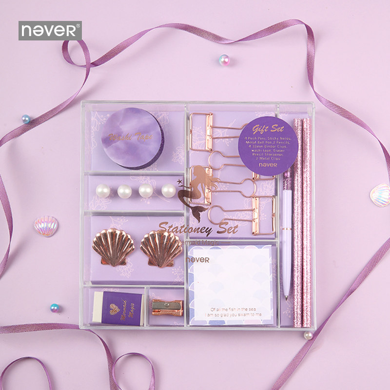 Never Pink Series Stationery Set Band
