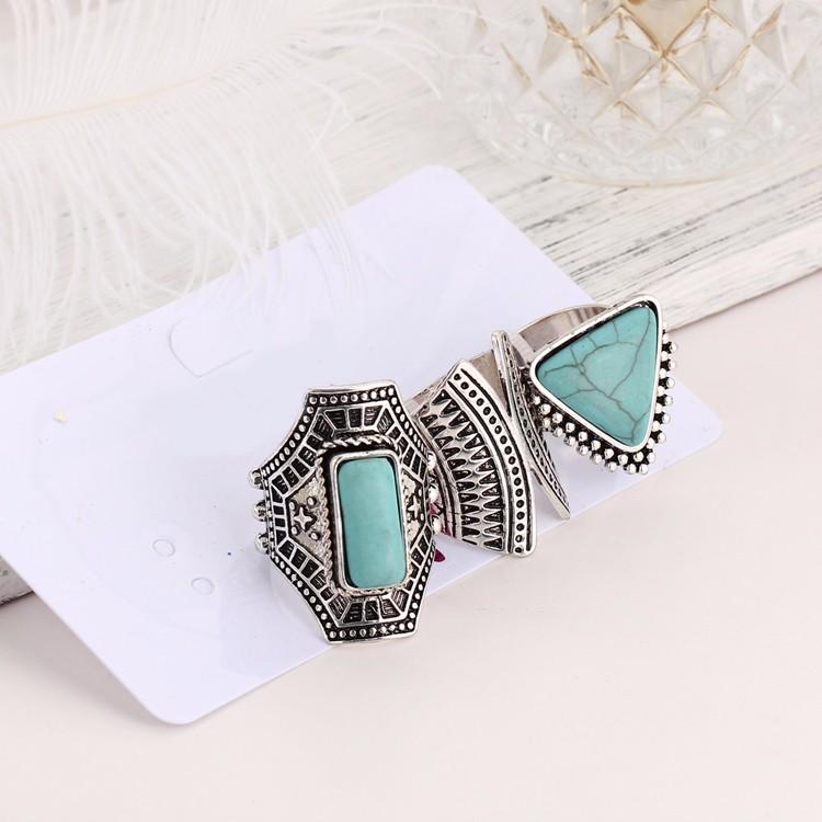 HTB1_3y7MVXXXXcVXVXXq6xXFXXX6 Boho Style 3-Pieces Vintage Punk Knuckle Ring Set For Women - 2 Colors