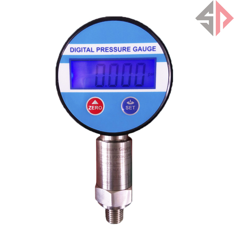 ФОТО G1/4  -100Kpa Battery Powered Digital Pressure vacuum pressure gauge psi/Bar/ kg/m2/Kpa