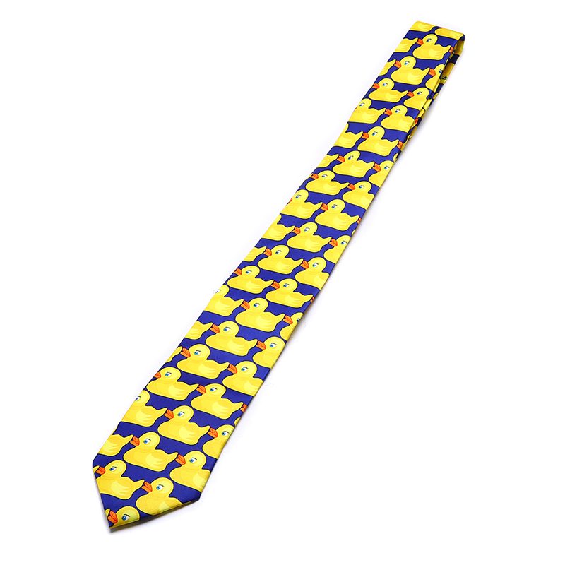 Mens Tie How I Met Your Mother TV Show Yellow Rubber Duck Tie Men's Funny Fashion Ducky Professional Necktie Man Shirt Ties