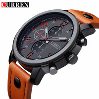 Curren 8192 Mens Watches Top Brand Luxury Quartz Men Watch Male Casual Sport Clock Waterproof Men