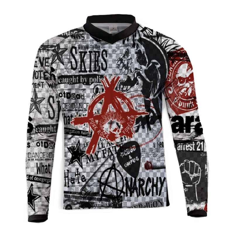 BMX Clothing Jerseys Mtb Shirts Offroad Motocross-Sportwear Mountain-Bike DH Downhill