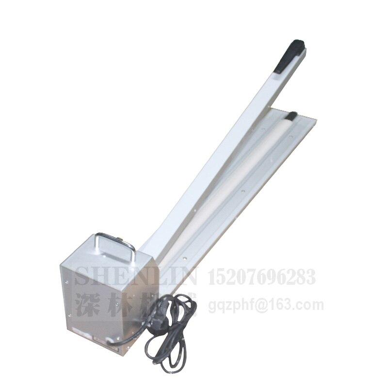 Manual 600MM SF600 Machine Sealer 60 Impluse Sealing Machine Hand Length 220V Sealing Sealing Sealer 50HZ Heat 110V Bag Enlarge