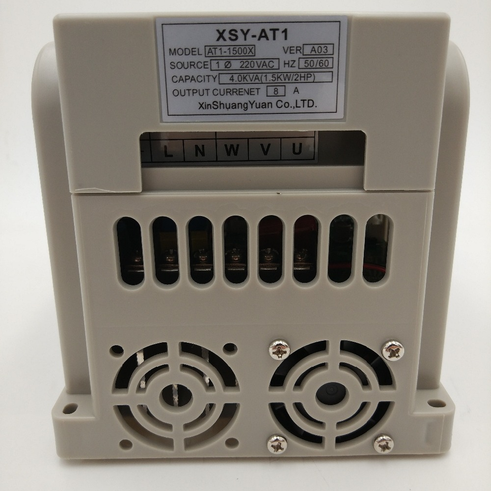VFD 2.2KW nouvel onduleur CNC moteur de broche contrôle de vitesse 220 V 1.5KW/2.2KW/4KW 220 v 1 P entrée 3 P sortie inverseur de fréquence pour moteur - 2