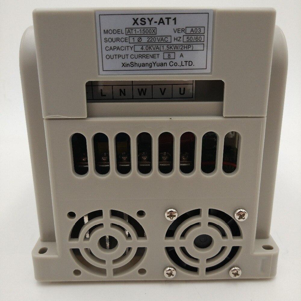 VFD 2.2KW nouvel onduleur CNC moteur de broche contrôle de vitesse 220V 1.5KW/2.2KW/4KW 220v 1P entrée 3P sortie inverseur de fréquence pour moteur - 2