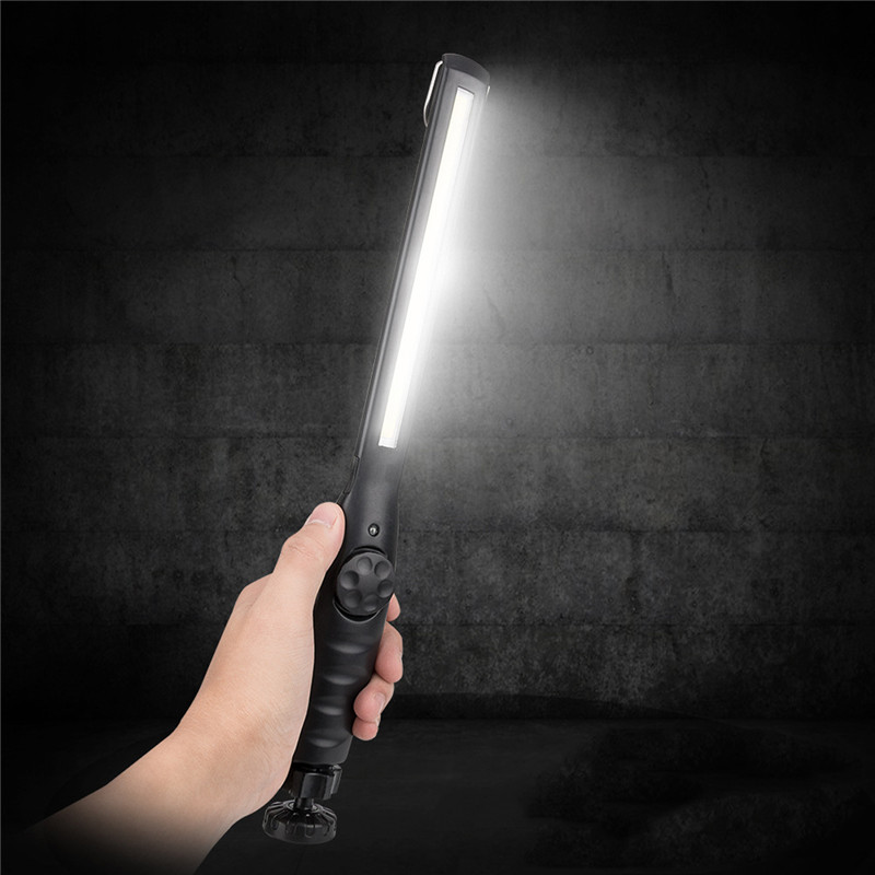 Smuxi Portable Industrial Grade High Lumen Rechargeable Cob Led Slim Flash Light With Magnet Base Working Inspection Pen Light