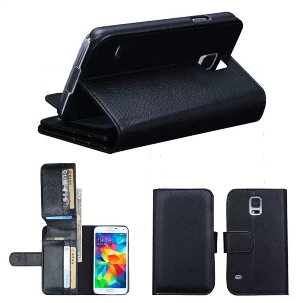 Luxury Wallet Leather Case For Samsung Galaxy S5 Neo G903F G903W G901F G900F Flip Cover Stand Capa