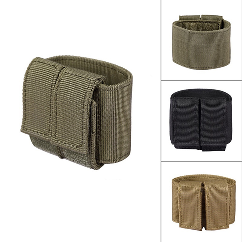 Universal Tactical Airsoft Gun Holster Durable Hunting MOLLE Pistol Bag Hook & Loop for Glock 17 18 19 1911 e.t.c. image