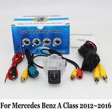 Для Mercedes Benz A Class W176 2012 ~ 2016/RCA Проводной Или Беспроводной/CCD Ночного Видения Заднего Вида Камеры/HD Широкоугольный Объектив камера