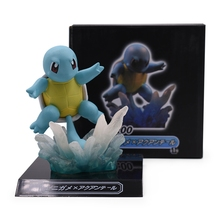 2019 Anime Squirtle PVC Action Figure Toy Cartoon Doll Model Collection Toys For Children Christmas Gift 28cm steampunk batman timeless play action figure pvc toys collection anime cartoon model toys collectible