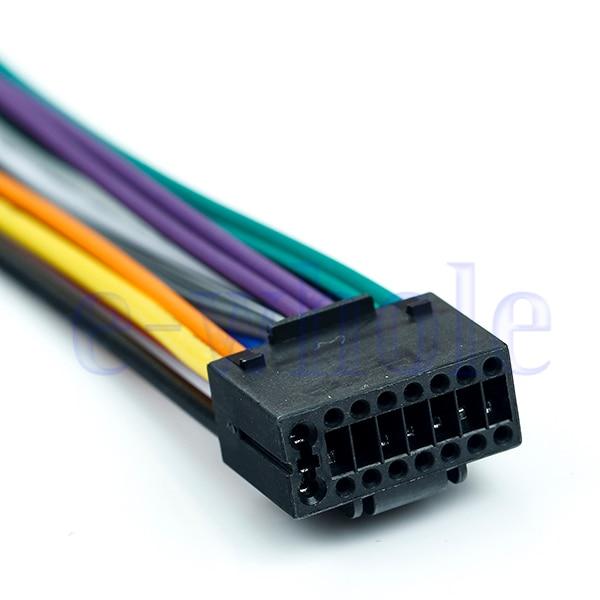16 Pin JVC Car Stereo Radio Wire Wiring Harness Plug Cabke MA682-in