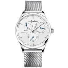 AGELOCER Mens Relógios Top Marca de Relógios de Moda Homens de Negócios Projeto Especial relógios de pulso Do Esporte Relógios Relogio masculino Para O Presente