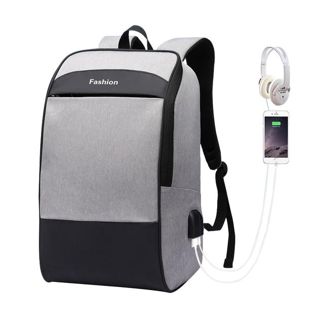 Men laptop backpack Anti theft backpack 15.6 Double USB large capacity backpacks waterproof bagpack men mochila hombre back pack
