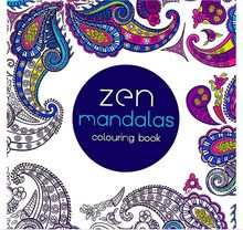 24 Pages New Mandalas Flower Coloring Book For Children Adult Relieve Stress Kill Time Graffiti Painting Drawing Art Book H2181