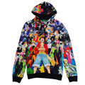 XQXON-3D hoodies One Piece cartoon anime printing hooded pullovers men women fall winter outerwear clothes sweatshirt
