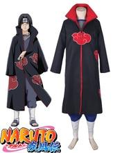 Free Shipping font b Naruto b font Shippuden Uchiha Itachi Akatsuki Uniform Anime font b Cosplay