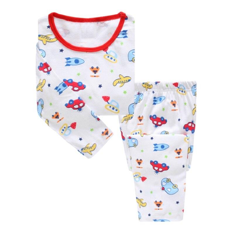 6629f1747d2482 US $6.21 10% OFF Roboter Kinder Pyjamas Anzug Jungen Pijama Nachtwäsche  Baby Junge Kleidung Boden T Shirts Kinder Pyjama Startseite Sport Anzug ...