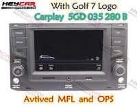 Carplay-Radio MIB de 6,5 pulgadas 5GD035280B 5GD 035 280 B para VW Golf 7 MK7 VII Passat B8 MQB Tiguan